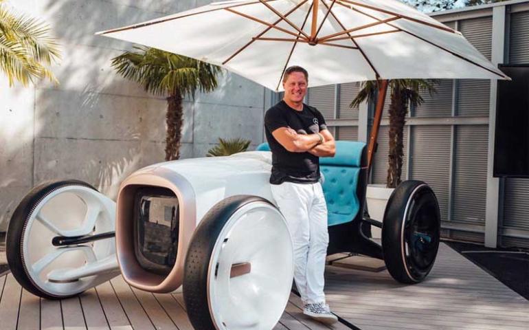 รถเบนซ์เจ๋ง ๆ Vision Mercedes Simplex เก๋าล้ำลงตัว